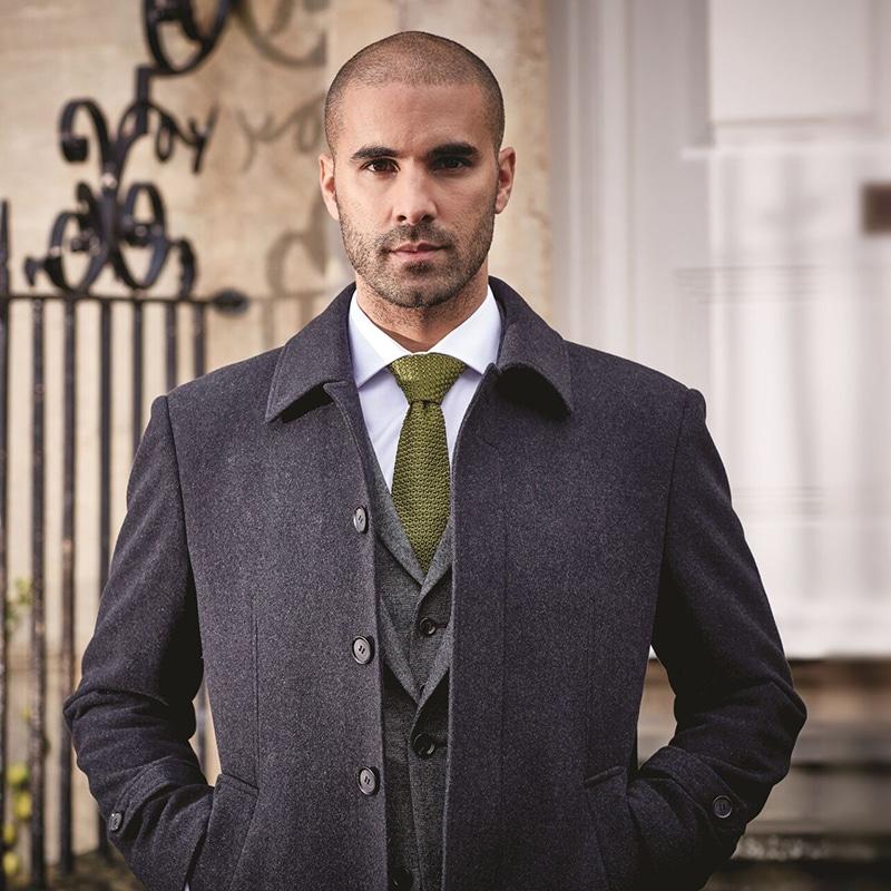 Smart Coat Over Suit Obriens Menswear